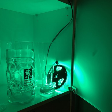 Green LED Reel